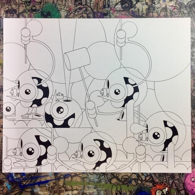drawing finishing - dalek | ello