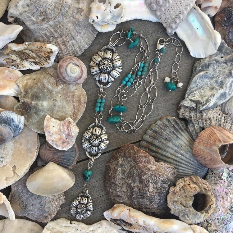 Lariat style necklace 3 preciou - velvetstarr | ello