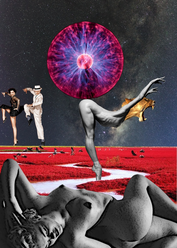 Ecstasy Balance Digital Collage - johnnylemuria | ello