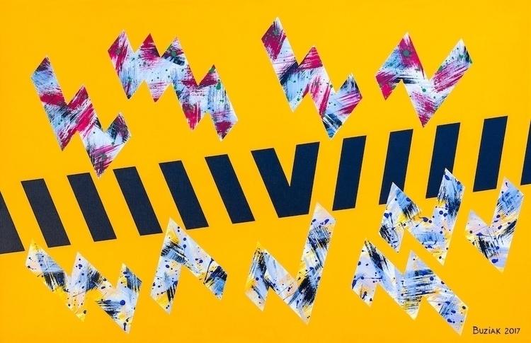 """VI"" artwork, 46th piece dedica - edbuzz | ello"