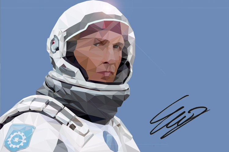 Matt McConaughey Interstellar - interstellar - emirhamzah | ello