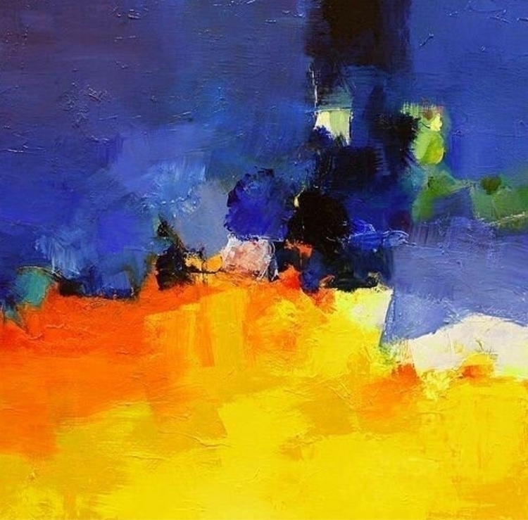 piece.. Hiroshi Matsumoto - paint - kunst365 | ello