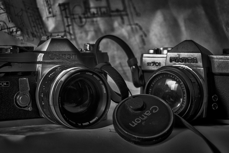 . equipment styled - antique, camera - dalwenphotography | ello