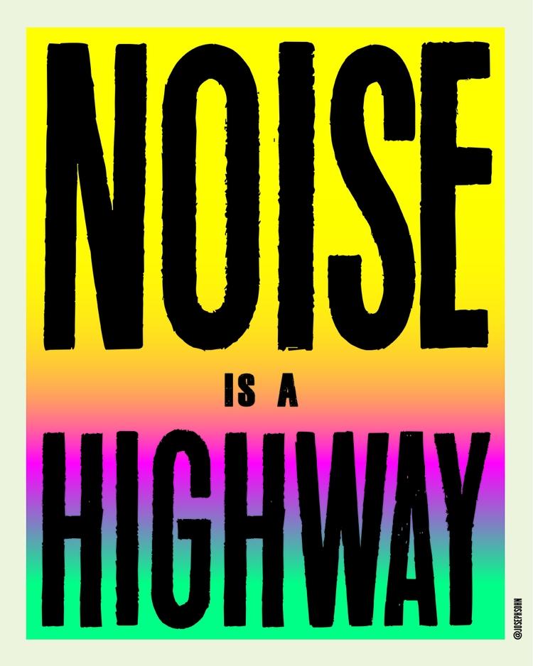 posters - 7, 108, noise, highway - josephsohn | ello