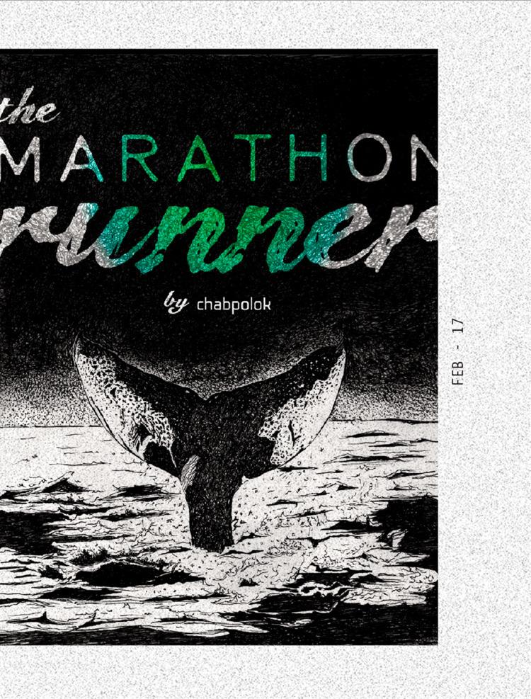 Marathon Runner Ilustration Mex - chabpolok | ello