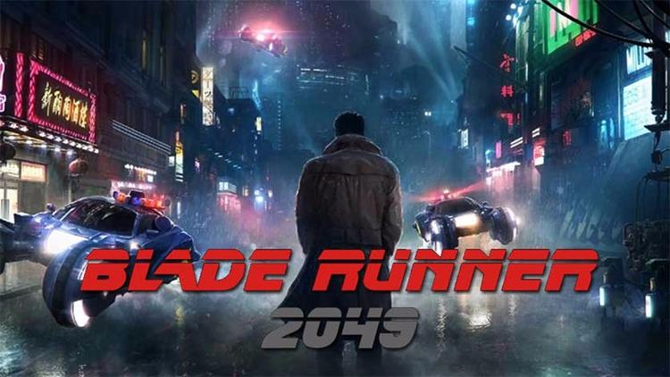 Blade Runner 2049 today. Rare H - jim_plaxco   ello