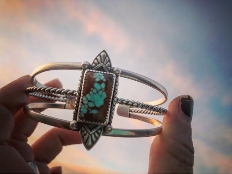 turquoise cuff listed mañana! l - sierrasagedesigns | ello