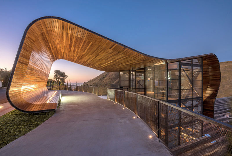 Brewery Brazil Designed Roof - architecture - red_wolf | ello