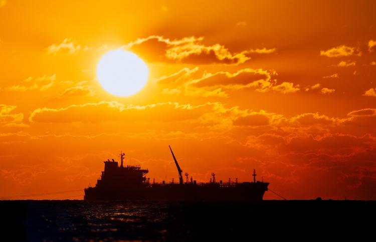 White sun - photography, sunset - elhanans | ello