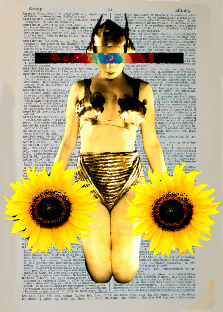 'Rhea' Digital Collage, 2017 Ar - johnnylemuria | ello