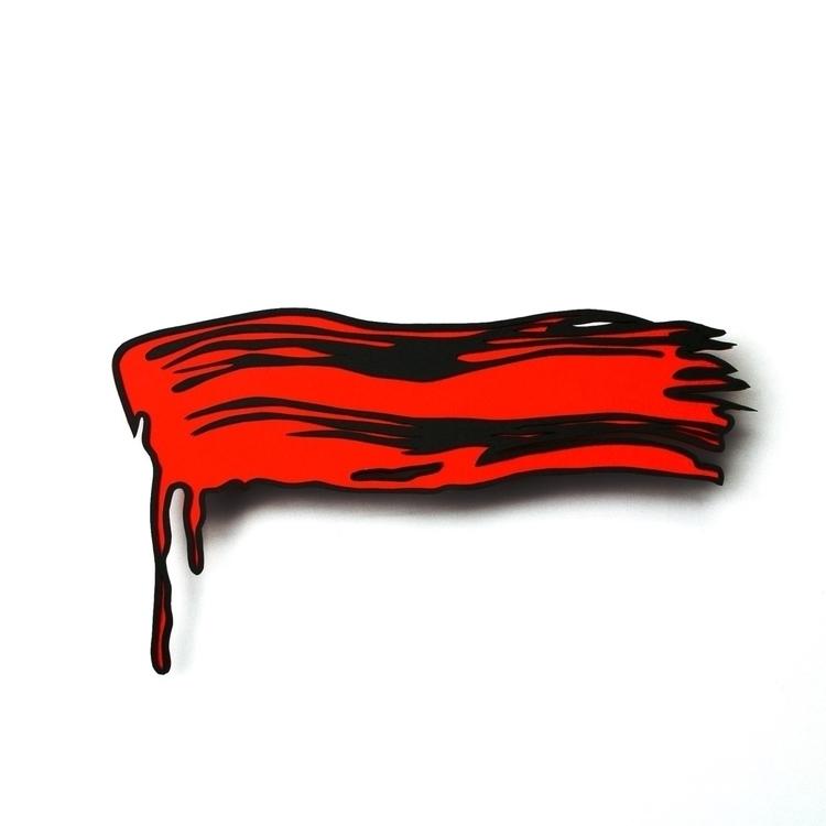 Paper imitating paint paint - paper - hampusha | ello