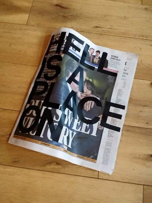 Earth Vinyl Newspaper, 2015 - paulchisholm - mrpauldavidchisholm | ello