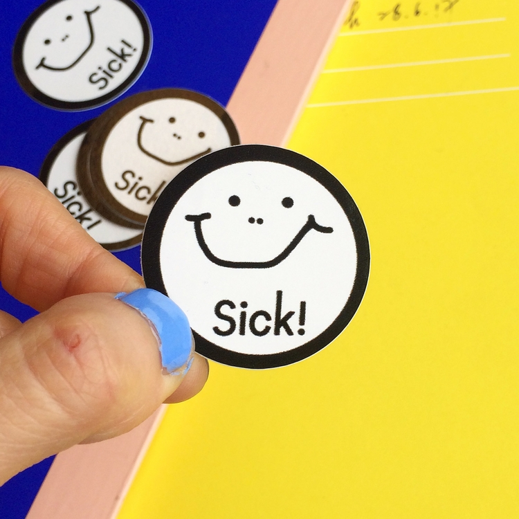 SICK! Sticker £1 interested - lilykongyuet | ello