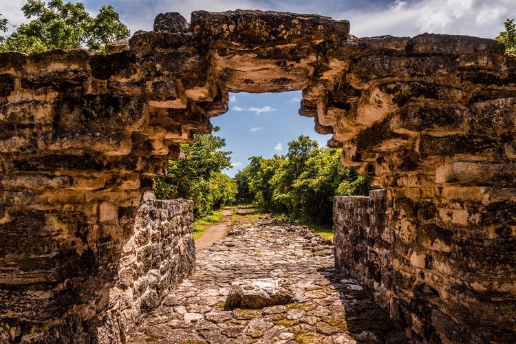 Ancient Arch stone arch pre-Col - mattgharvey | ello