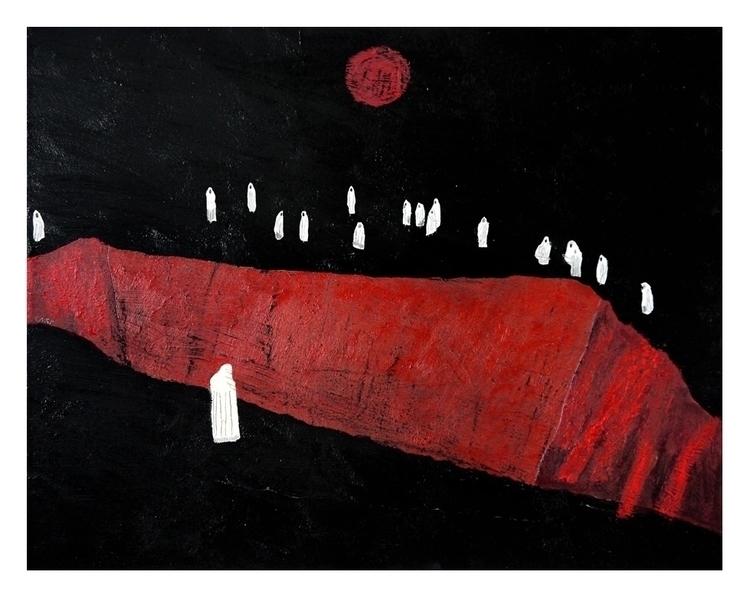 Pit. 50x40cm, 2014 - art, painting - carpmatthew | ello