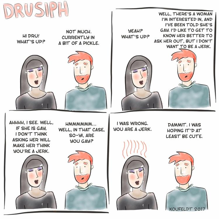 monday, drusiph, comic, comicstrip - drusiph | ello