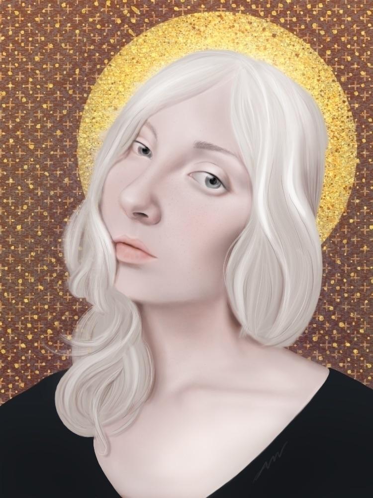 Alabaster Madonna - nanwray | ello