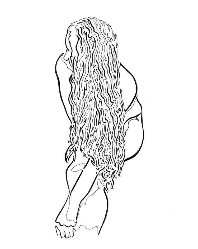 cascade long beautiful hair Sin - robert_bentley | ello