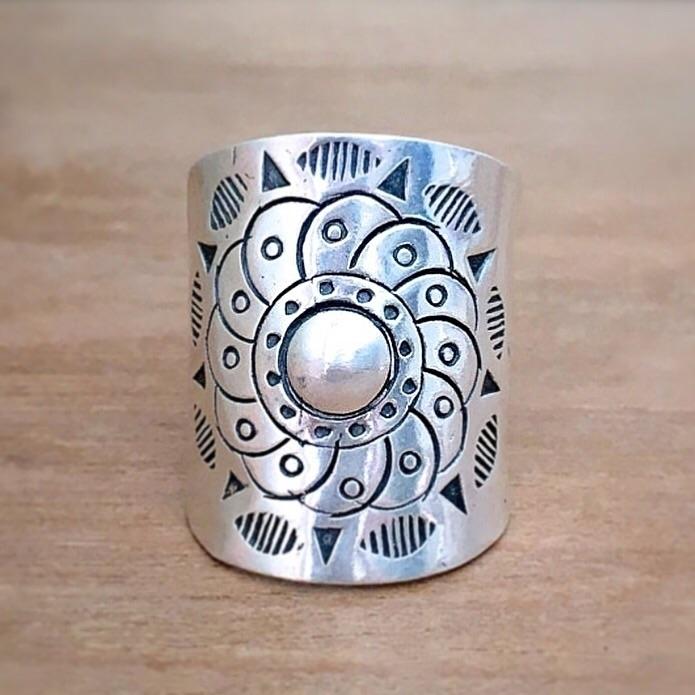 Serenity Mandala Ring 🦋 (size 7 - seagypsycollection | ello