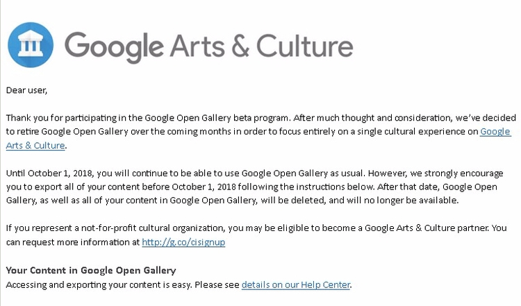 surprised Google discontinue Op - jim_plaxco | ello