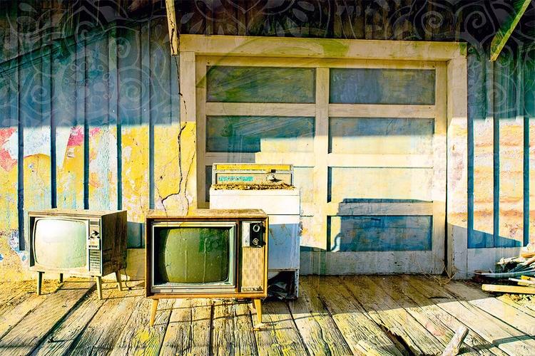 Abandoned Blues print canvas - kokabella   ello