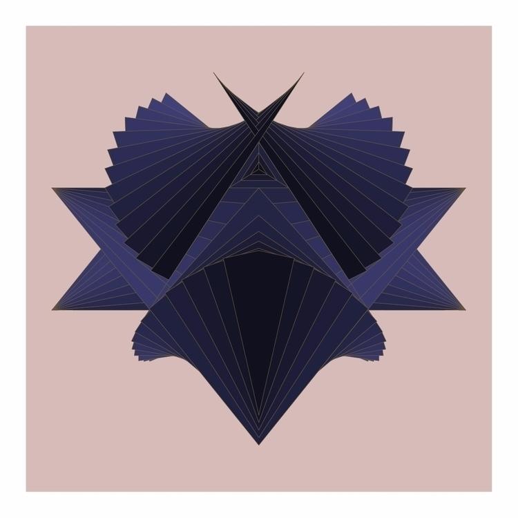 Space Time Distortion II - vectorart - alexisyasky   ello