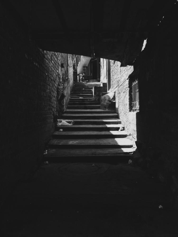Stairway heaven - architecture, black - paulomartinez   ello