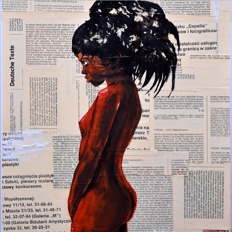 African Teenage Girl Jakub DK M - bitfactory | ello