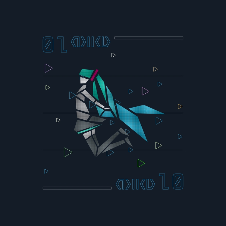 MIKU - logo, design, illustration - falcema | ello