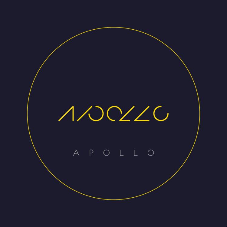 Moon / Apollo - Logo, Design, typo - falcema | ello