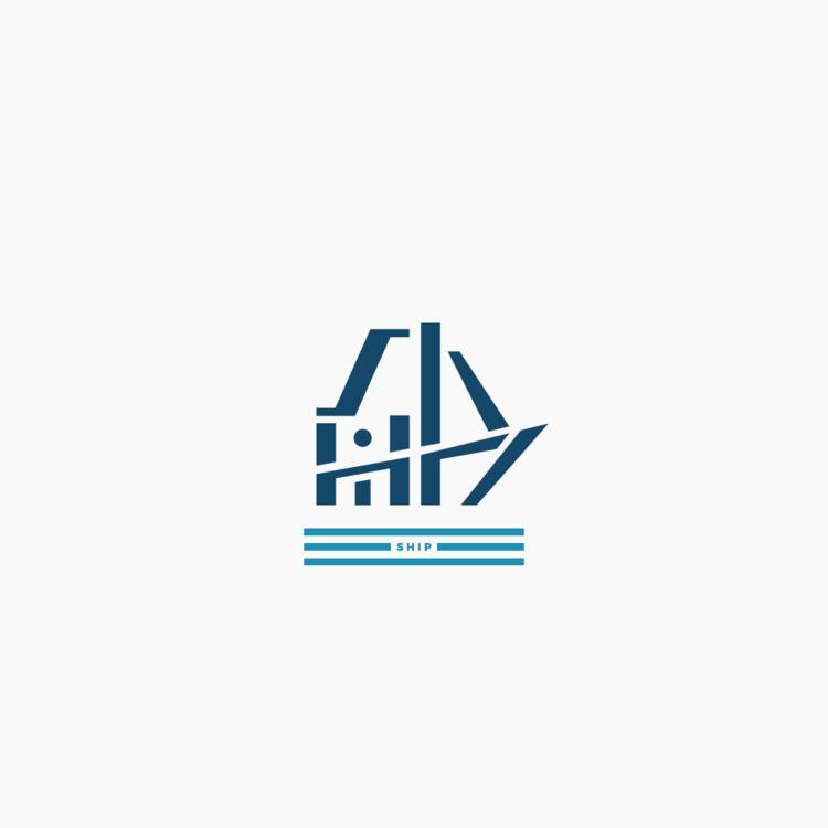 船 - Ship - Logo, Design, Kanji, Minimal - falcema | ello