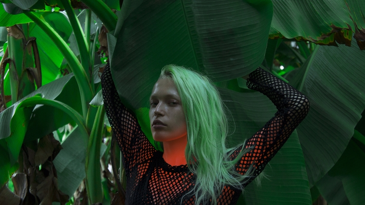 LEAVE JUNGLE - GIRL, NEON, ACID - thisset | ello