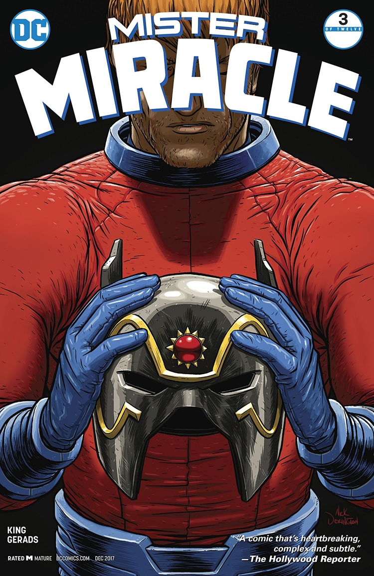 Picture Mister Miracle DC Comic - oosteven   ello