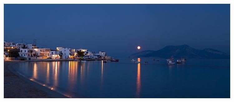 Moonrise Keros. Koufonisia, Gre - lars_fotograf | ello