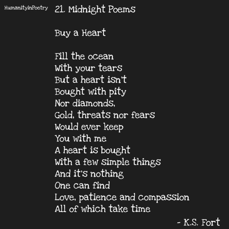 Link Poem, Buy Heart - poetry, poet - humanityinpoetry | ello