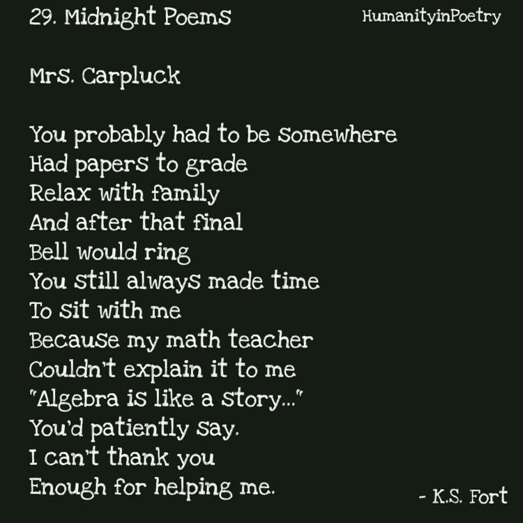 Link Poem, Carpluck - poetry, poet - humanityinpoetry | ello
