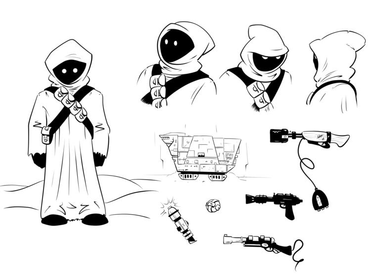 - Day 16: Character Design Orig - erobertwald | ello