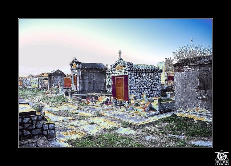 Walking City Dead - ghosts, spirits - greycrossstudios   ello