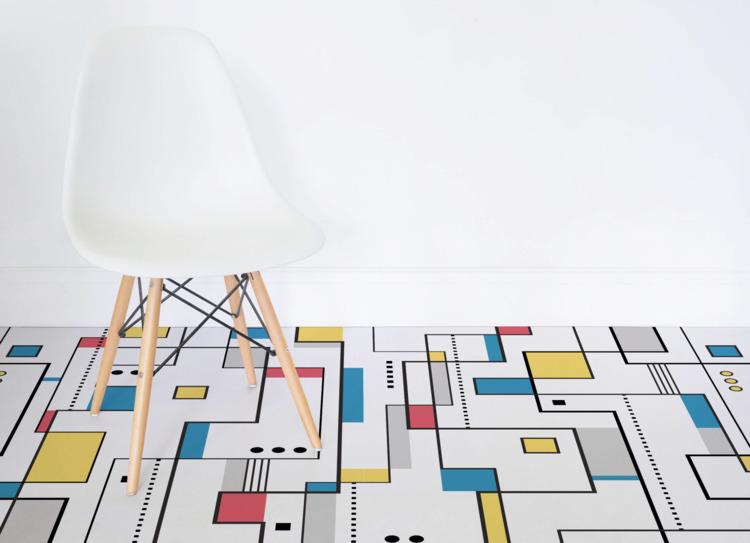 Mondrian-inspired flooring Atra - red_wolf | ello