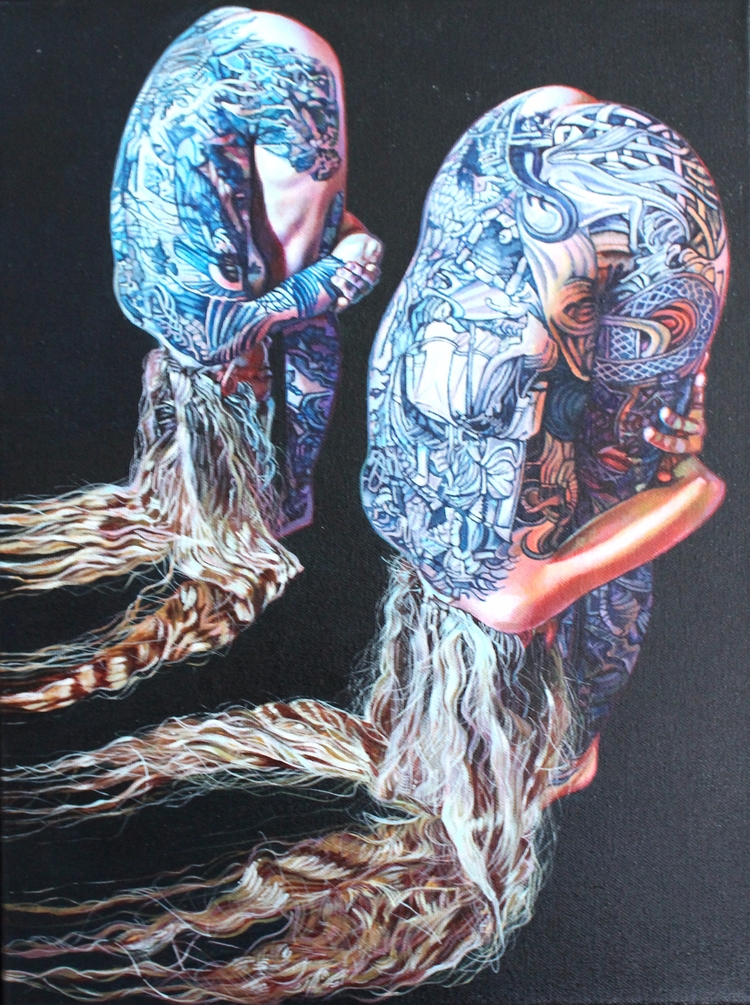 Gate Keepers' Acrylic canvas |  - sarahmuirhead | ello