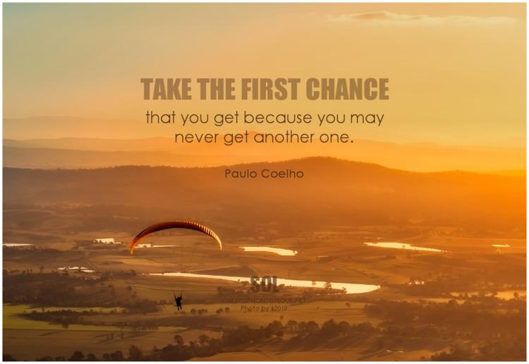 chance quotes Paulo Coelho - justdoit - symphonyoflove | ello