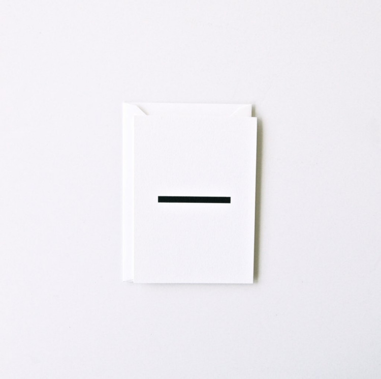 Design: Haus Press - minimalist | ello