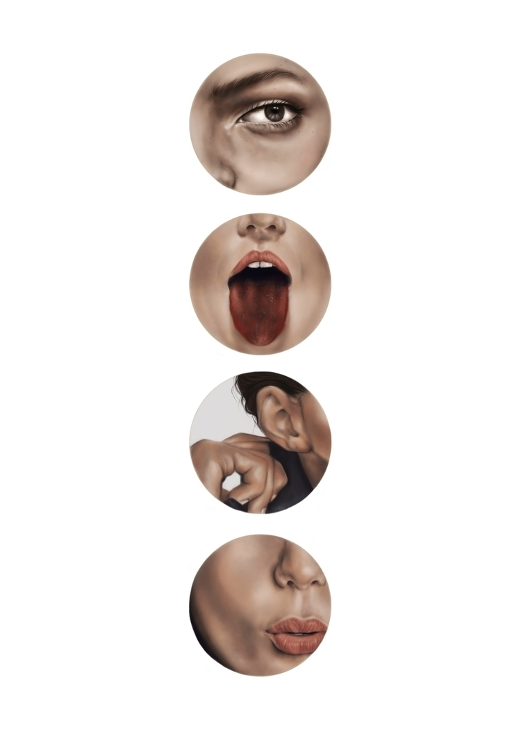 Elements representation senses - xgardenia | ello