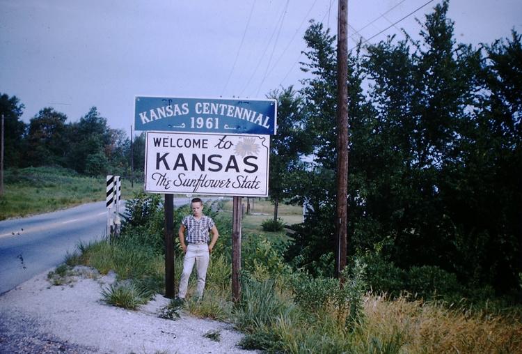 Kansas, 1960 - foundphoto, vintagephoto - marksusina | ello