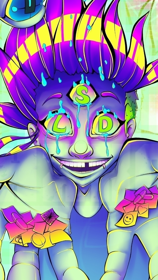 Closeup - art, illustration, LSD - ehxkor | ello
