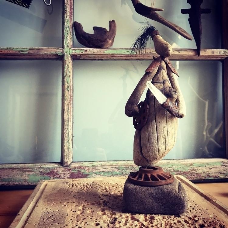 Driftwood warrior - eydiexo | ello