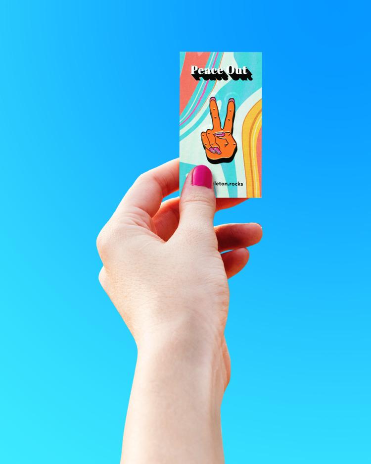 repPIN' Peace pin - timsingleton | ello