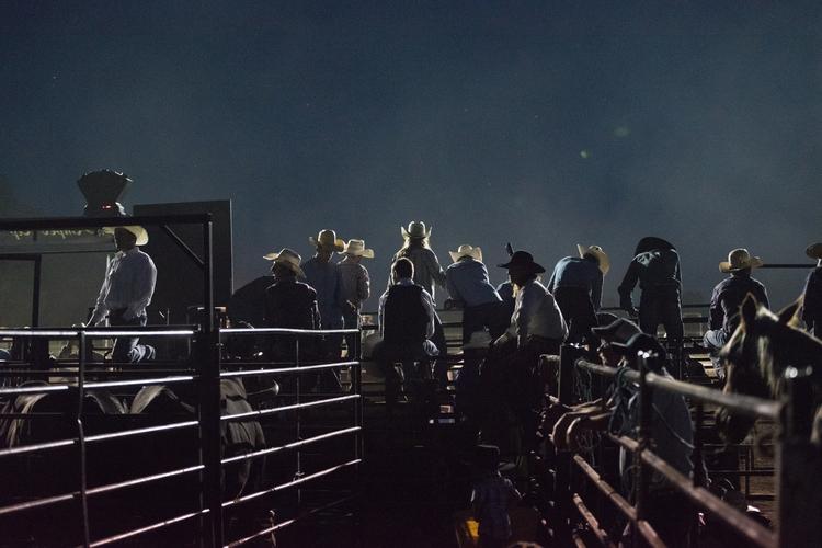 evening falls remaining riders  - kmoyer   ello
