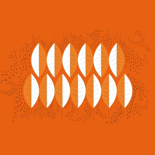 Finally, leafs falling - illustration - joanacorker | ello