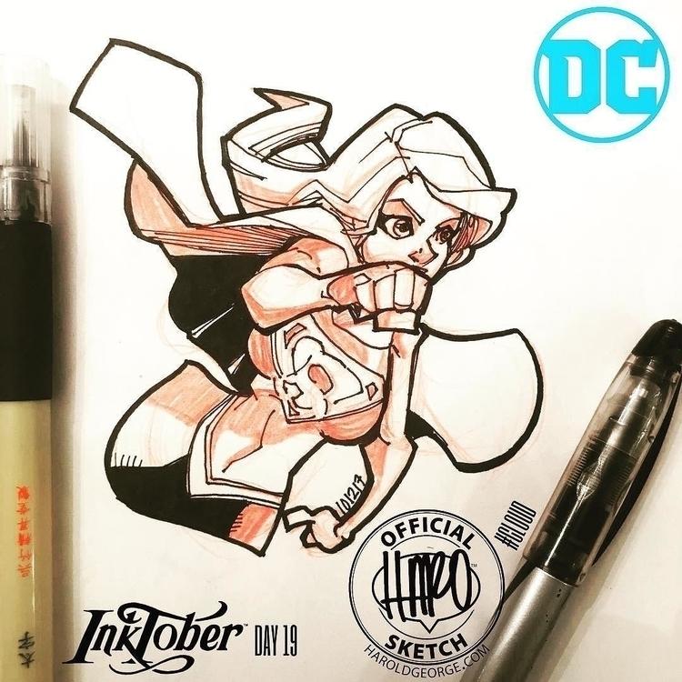 posted Instagram: Sketch Inktob - haroartist | ello